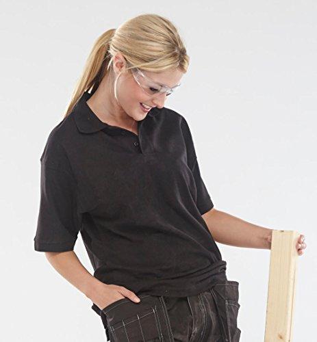 Click Polo Shirt Schwarz–XL