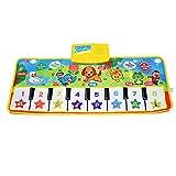 Fresh Household Piano Mat, Kids Keyboard Mat Playmat Education Toy Birthday Christmas Easter Day Gift for Kids Boys Girls
