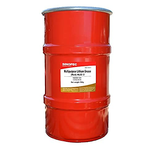 Red Multipurpose Lithium Grease, NLGI 2 - 120LB. (16 Gallon) Keg - Purpose Marine Grease