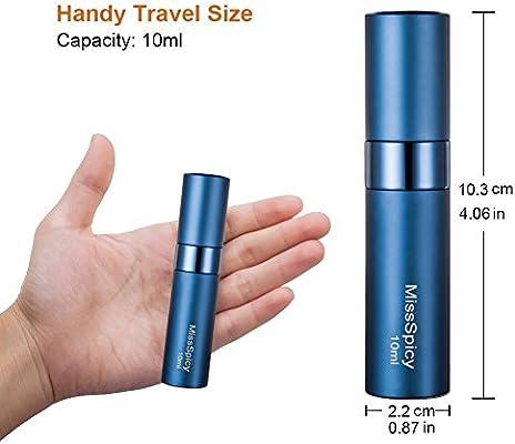 72cc67e20 10ml Atomizador Perfume Recargable| Botella De Viaje Portátil Vacía ...