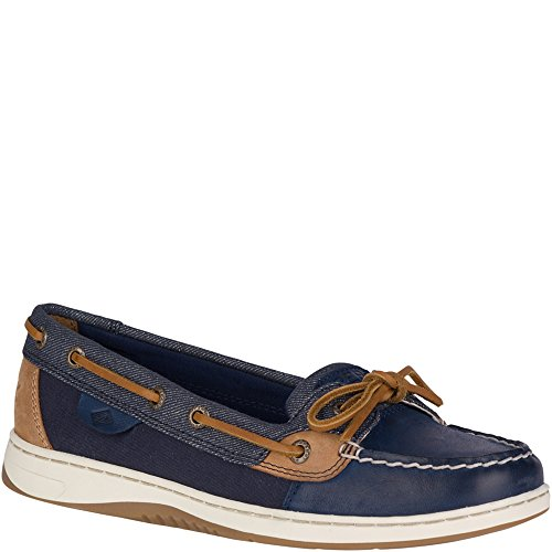 Blue Fish Boat Shoe - Sperry Top-Sider Angelfish Sparkle Boat Shoe