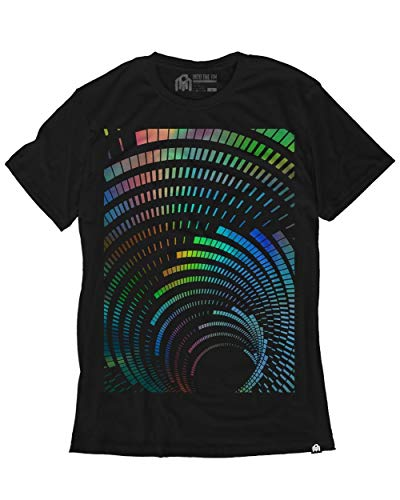 Awesome Graphic Tees - INTO THE AM Vortex Men's Graphic Tee Shirt (2X-Large)
