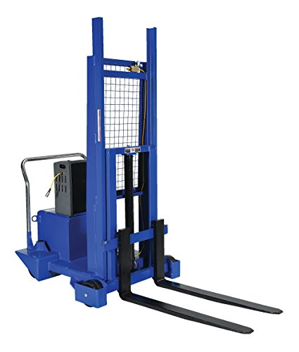 Vestil CB-PMPS-10-50-AIR  Air/Oil Recip Foot, Rear Wt Pallet Master 73 Inch 1000 Lb. Capacity by Vestil