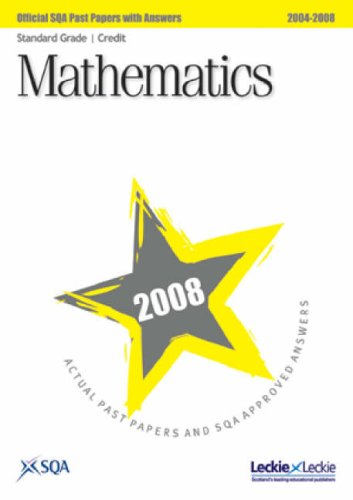 Read Online Maths Standard Grade (Credit) SQA Past Papers 2008 pdf epub