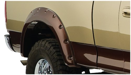 Bushwacker Ford Cut-Out Fender Flare - Rear Pair - OE Matte Black 20074-02 (Fender Flares 03 Ford F250 compare prices)