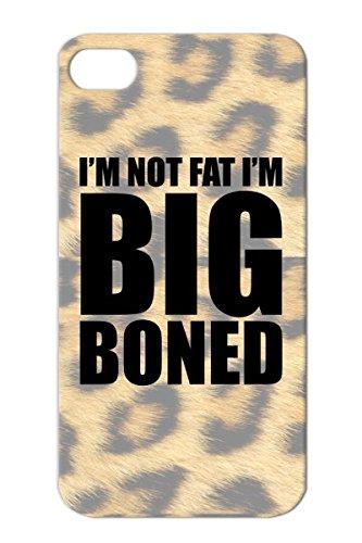 Overweight Funny Sayings Im Not Fat Big Boned Food: Amazon ...