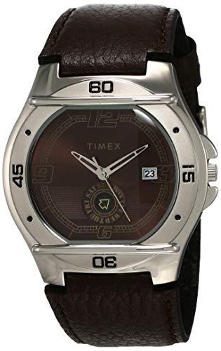 Timex Fashion Analog Brown Dial Men #39;s Watch   EL02