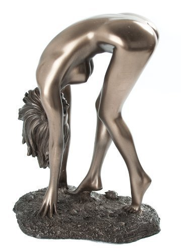 Art Deco Nude Naomi Erotic Statue Figure Bronze New by SC Leisure by SC Leisure