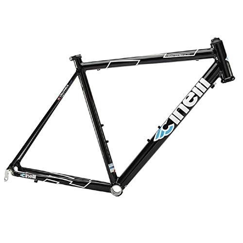Cinelli Men's Experience Speciale Bicycle Frame, 50cm/Small, Black ()