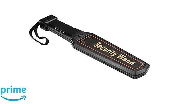 Velleman cs10md2 Handheld Metal detector - negro (-) : Amazon.es: Bricolaje y herramientas