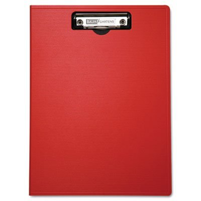 Baumgartens 61632 Portfolio Clipboard With Low-Profile Clip, 1/2'' Capacity, 8 1/2 x 11, Red (BAU61632) by Baumgartens