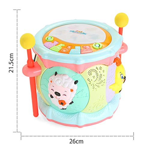 LIPENG-TOY 0-3-6 Years Old Children Learn to Sing Can Accompaniment Hand Drums Baby Infant Enlightenment Baby Toys Boys and Girls (Color : Multi-Colored) by LIPENG-TOY (Image #8)