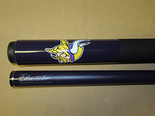 (Eliminator Officially Licensed NFL Minnesota Vikings Billiard Pool Cue Stick)