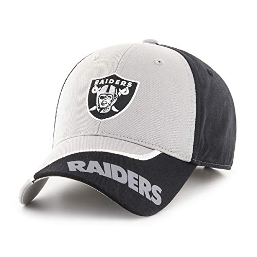 NFL Oakland Raiders Sprout OTS All-Star Adjustable Hat, Black, Kid's