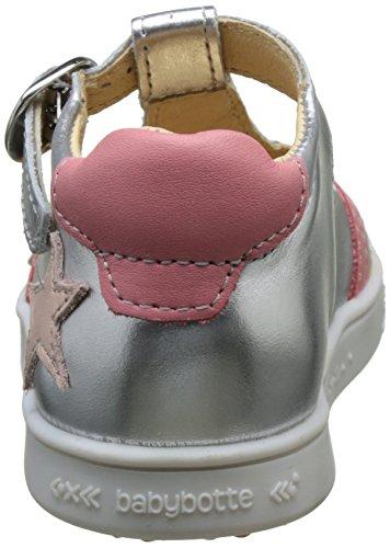 babybotte Saturne Mädchen Hohe Sneaker Argent (argent)