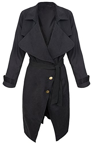 Rock Creek Selection - Manteau - Trench - Femme Noir