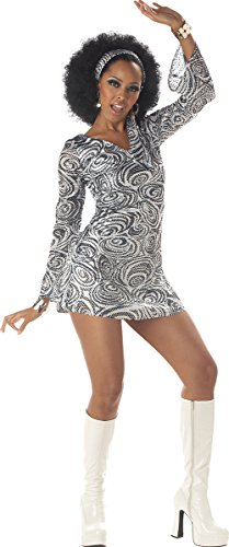 California Costumes Women's Disco Diva Costume, As As Shown Medium -
