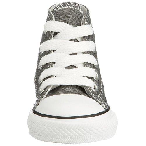 Converse Chuck Taylor All Star Core Hi Zapatillas de tela, Unisex - Infantil Gris