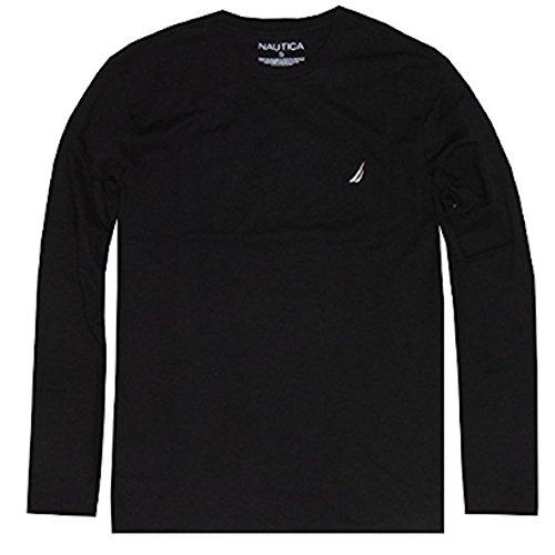 NAUTICA Sleeve Solid Crewneck T Shirt