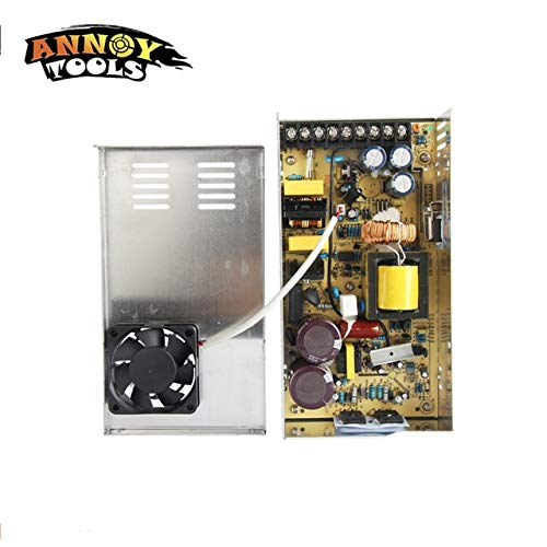 Utini 12V 30A 360W Switching Power Supply Driver for CNC Engraving Machine AC 100-240V Input to DC 12V30A