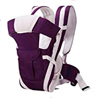 Ineffable Baby Carrier Shoulder Belt Sling Backpack Baby Holding Strap Adjustable Carry Bag Baby Carrier(Purple, Front Carry Facing Out)