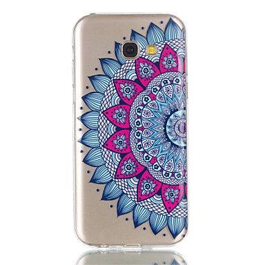 Casos hermosos, cubiertas, Para la caja de teléfono del tpu de la galaxia a5 (2017) a3 (2017) del teléfono de la galaxia samsung media caja del teléfono del alivio ( Modelos Compatibles : Galaxy A5(20 Galaxy A5(2017)