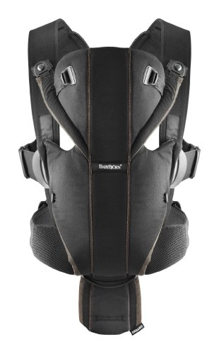 Amazon Com Babybjorn Baby Carrier Miracle Black Silver