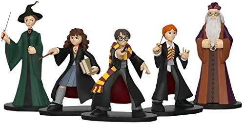 HARRY POTTER Funko Hero World Series 7, Ron Weasley, Hermione Granger, Albus Dumbledore & Minerva McGonagall 4-Inch Vinyl Figure 5-Pack