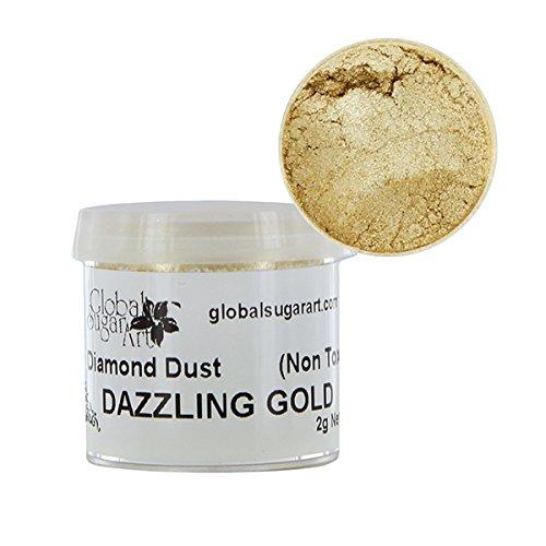 Diamond Gold Dust - Dazzling Gold Diamond Dust by GSA