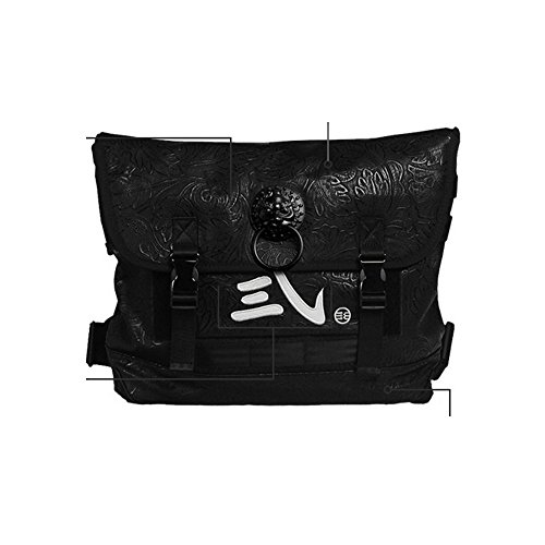 Wind China Embroidery Shoulder Bag Single Business Postman A Lion Embossed Bag Messenger A Head Bag Vintage Bag fdrdSwq7