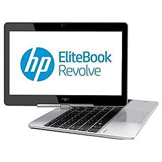 "HP EliteBook Revolve 810 G2 Tablet 11.6"" Touchscreen Business Laptop Computer, Intel Core i5-4200U Up to 2.6GHz, 8GB RAM, 256GB SSD, 802.11ac WiFi, USB 3.0, Windows 10 Professional (Renewed)"