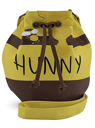 ویکالا · خرید  اصل اورجینال · خرید از آمازون · Loungefly Winnie the Pooh Honey Pot Crossbody bag Standard,Yellow wekala · ویکالا
