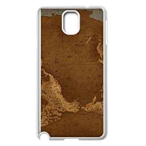 Samsung Galaxy Note 3 Phone Cases White Vintage World Map FXC559015