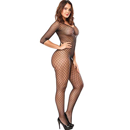 87ce81d2c50 Jual Lingerie for Women Crotchless Fishnet Bodystocking