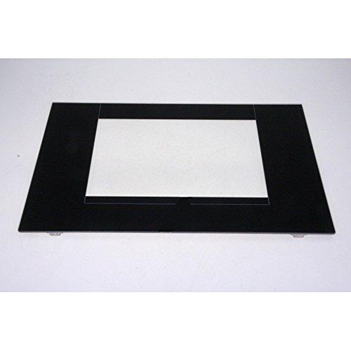 Indesit - Cristal Puerta Horno Black + escuadra para cocina ...