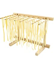 Southern Homewares SH-10153 Collapsible Wooden Pasta Drying Rack Natural Beechwood, One Size, Brown
