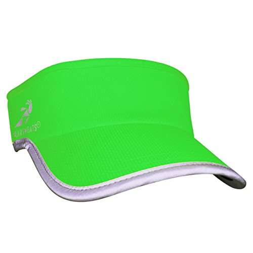 Headsweats Reflective Supervisor Headwear, Green, One Size
