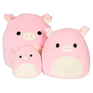 Amazon Com Kellytoy Squishmallow 5 Quot Peter The Pig Super