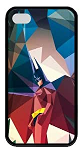 Blocky Batman TPU Black Case for iphone 4S/4