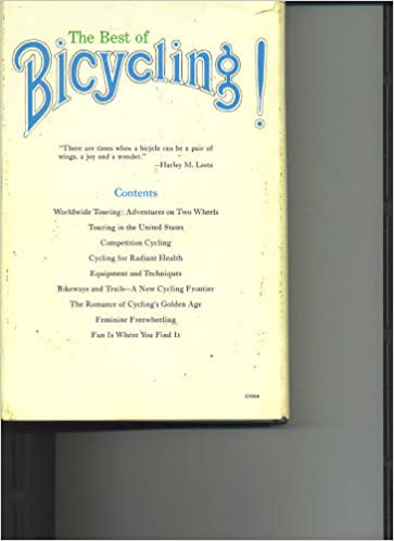 Book Best of Bicycling