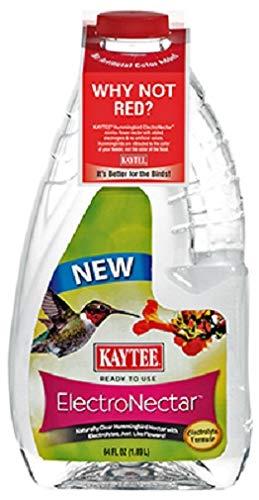 Kaytee Hummingbird Electro Nectar Ready to Use, 64oz (3 case(64oz))