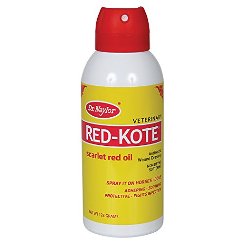 (Dr. Naylor Red-Kote Aerosol (128grams ) - Non-Drying, Soothing and Softening Skin Treatment)
