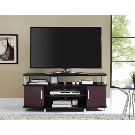 Amazon Com Carson Tv Stand For Tvs Up To 50 Multiple Finishes