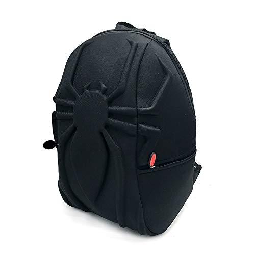 DeLamode Spiderman 3D Backpacks Animation Laptops Student Book School Bags ()