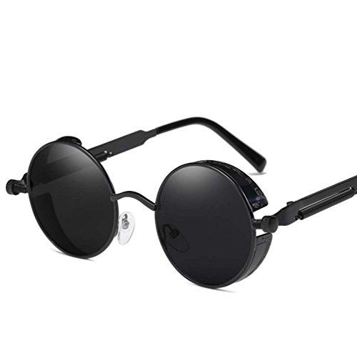 Arctic star Polarized Sunglasses Retro Punk Glasses Vampire too glasses (Black - Vampire Sunglasses