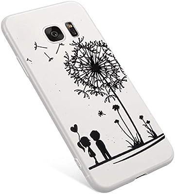 Uposao Funda Samsung Galaxy S7 Edge Carcasa Scrub ...