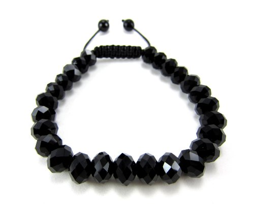 Black Diamond Fashion Bracelet (Rick Ross' All Black Diamond Cut Crystal Bracelet)