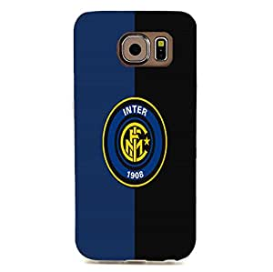 Official Design 3D F.C Internazionale Milano Phone Case for Samsung Galaxy S6 Edge Inter Milan Logo
