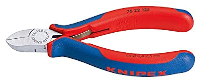 KNIPEX 76 22 125 Comfort Grip Electronics Diagonal Cutter
