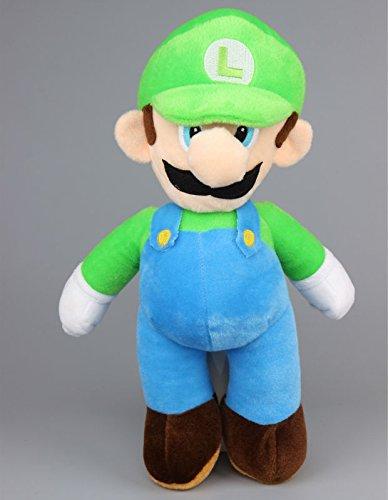 Super Big Bear Plush (Super Mario Bros Luigi Cute Soft Plush Figure Toy Anime Stuffed Animal 16 Inch Child Gift Doll)